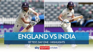 England Women vs India Women: T1 D1 highlights