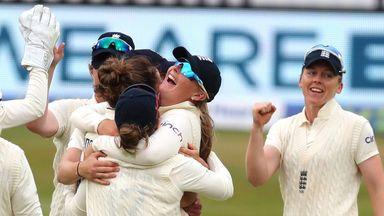 England Women vs India Women: T1 D2 highlights