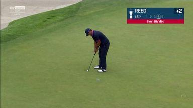 Reed three-putts from three feet!