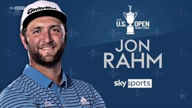 US Open: Rahm's winning round