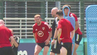 Wales prepare for Denmark clash in Rome