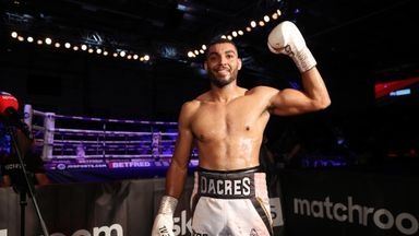 Dacres: Stoppage was icing on cake
