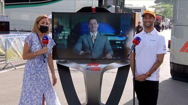 John Cena meets Daniel Ricciardo