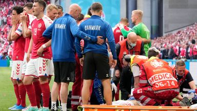 Muamba's doctor relieved by Eriksen's recovery