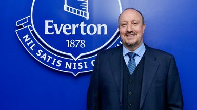 Benitez: I'm sure Everton can succeed