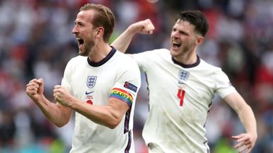 How important was England's team spirit?