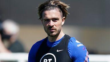 Grealish shows off skills in England training