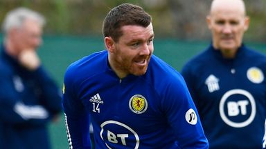 Fleck returns to Scotland training after Covid positive