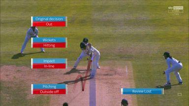 Rana claims Jones' wicket