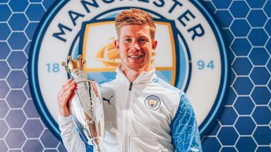 De Bruyne wins PFA Men's Player of the Year