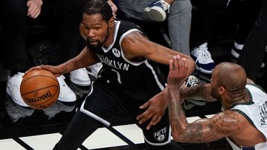 Durant scores 48 in vain as Nets crash out in OT