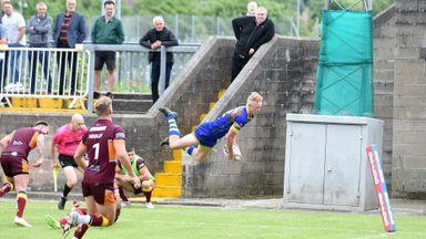 Walmsley's incredible leap!