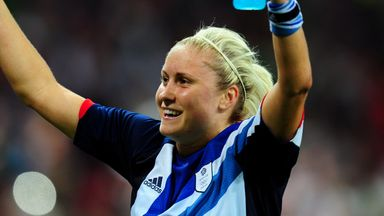 Morgan: Houghton my first role model