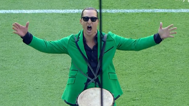 Hollywood star McConaughey whips up MLS crowd