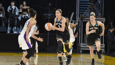 WNBA: Liberty 76-73 Sparks
