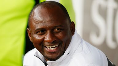 'Vieira a perfect fit for Palace'