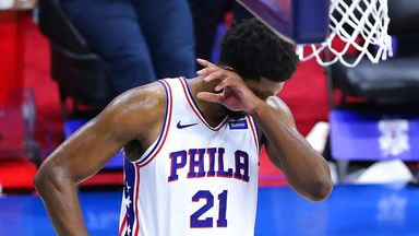 Embiid's 31 in vain as Sixers eliminated