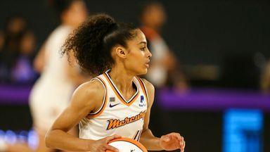 WNBA: Mercury 80-66 Sparks