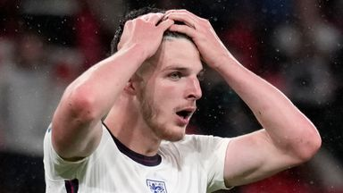 'Intensity not there for England'