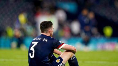 'Scotland let Croatia control the game'