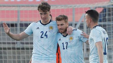 Hendry: Scotland have shown squad strength