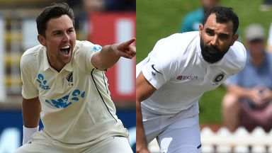 Hussain and Doull pick their World Test Championship starters