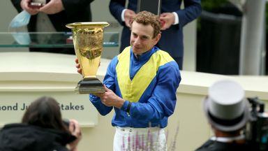 Stoute 'thrilled' with Dream win
