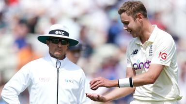 Catch controversy! Broad not happy with decision