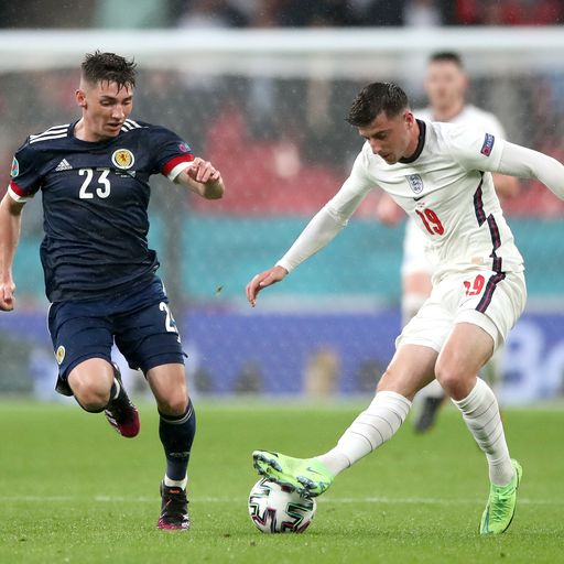England players Ben Chilwell and Mason Mount isolating after coming into contact with Billy Gilmour