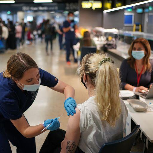 Coronavirus vaccine programme opens to all adults in Northern Ireland