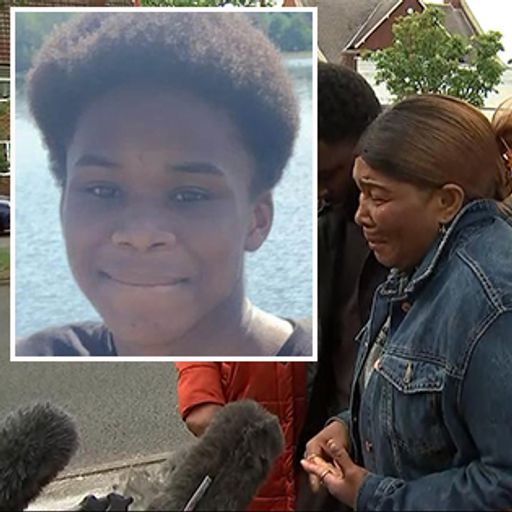 Mother of stab victim reveals heartbreak: 'I sent my son to play football and he never came home'