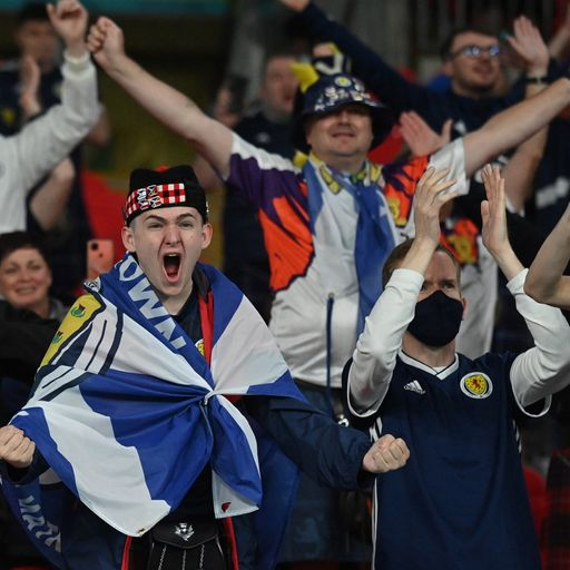 Nearly 2,000 cases linked to Scotland fans watching Euro 2020 games