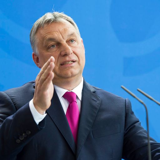 European leaders confront Hungary PM Viktor Orban over 'discriminatory' LGBT+ law banning 'promotion