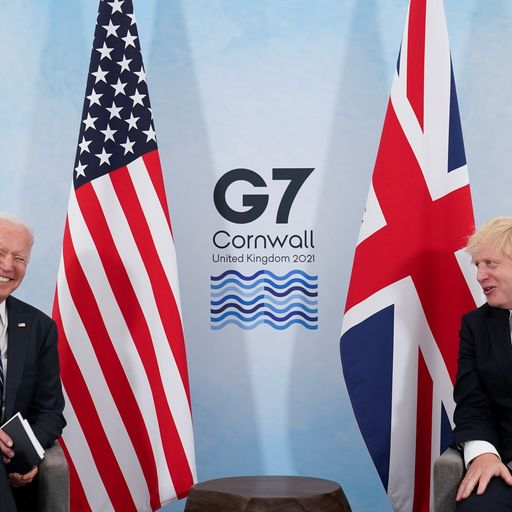 Warm words and positive mood music - but Brexit row will be test of Biden and PM's relationship
