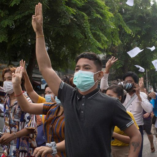 Myanmar junta releases over 23,000 prisoners but fate of detained protesters unknown