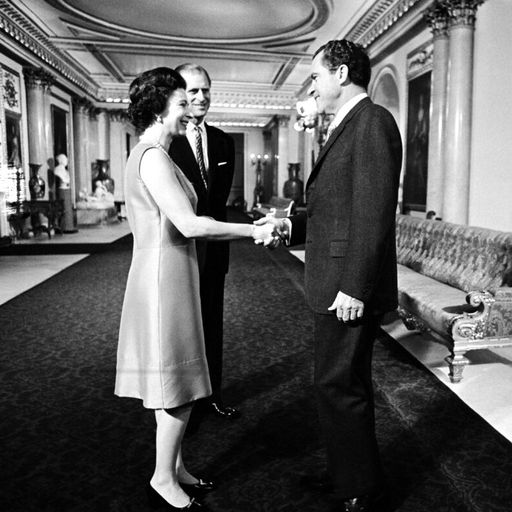 Dancing with Ford to a lapse in protocol with Carter - the Queen's encounters with 13 US presidents