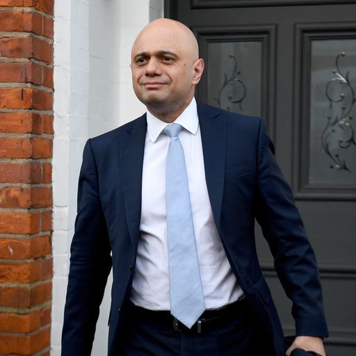 PM appoints former chancellor Sajid Javid as new health secretary
