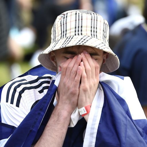 Eyewitness: It's tough being a Scotland supporter but there's hope for the future