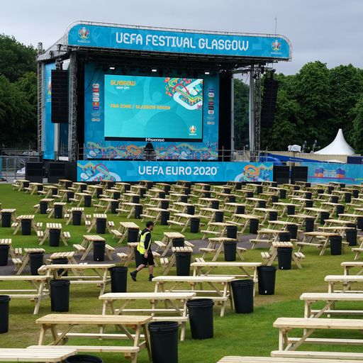 Fan zones, pubs and big screens - where to watch the matches