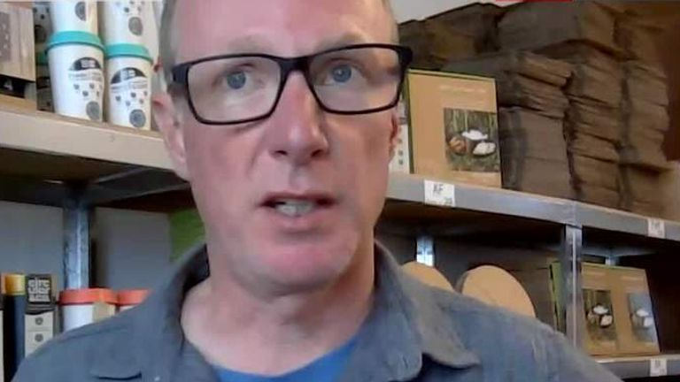 Dan Dicker, founder of Circular & Co, speaks to Sky's Ian King Live 11/6/21
