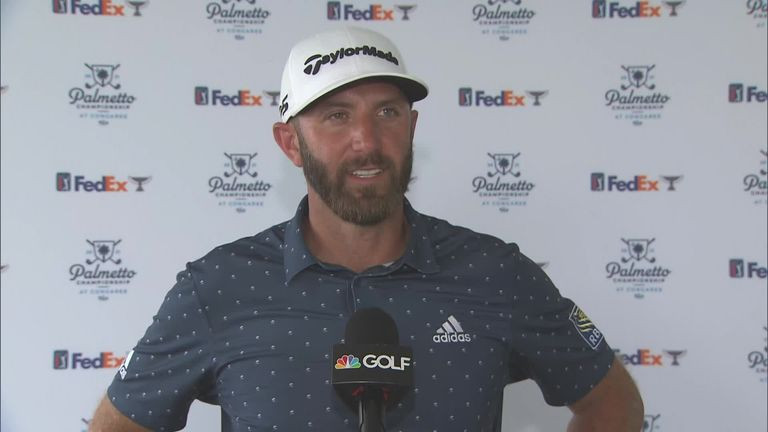Palmetto Championship: Dustin Johnson in the lead after opening 65 at Congaree |  Golf news