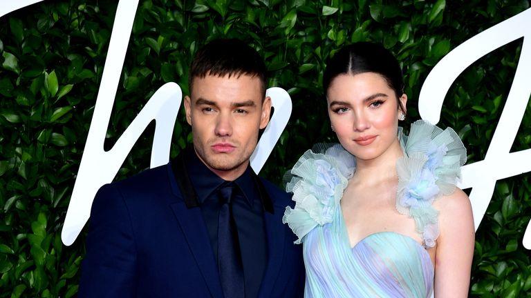 Liam Payne and Maya Henry attending the Fashion Awards 2019 at the Royal Albert Hall, Kensington Gore, London.