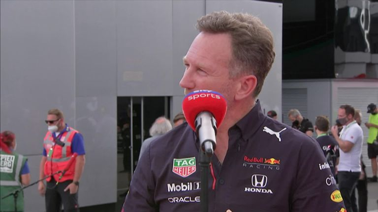 Christian Horner was full of praise for Max Verstappen following the Dutchman's dominating drive in the Styrian Grand Prix.