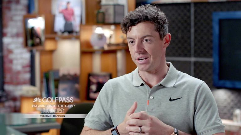 Michael Bannon discusses the benefits of getting juniors involved with golf and shares his teaching philosophy, while Rory McIlroy reveals Bannon's coaching was instrumental when breaking into the game - see the full GolfPass video on Sky Q