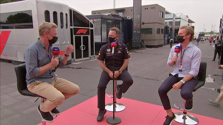 Red Bull team principal Christian Horner reflects on the team's first pole position at the French Grand Prix after Max Verstappen took top spot