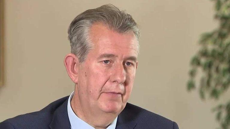 Edwin Poots speaks to Sky News