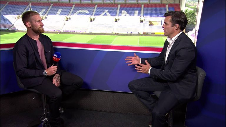 England and Catalonia star Sam Tomkins discussed the game with Flau and a series of hot topics in the rugby league in an interview with Sky Sports' Brian Carney