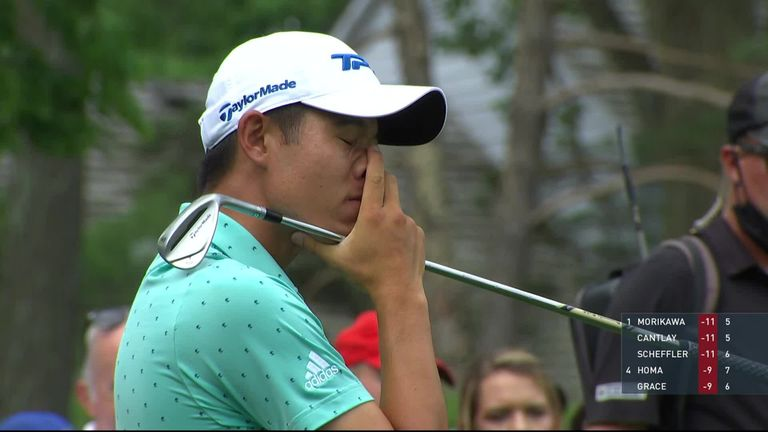The best shots and key moments from the final round of The Memorial, where Patrick Cantlay beat Collin Morikawa in a playoff to win for the second time at Muirfield Village.