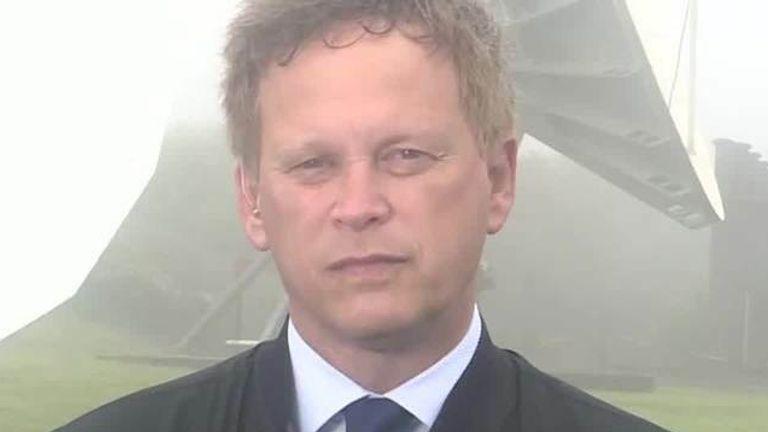 Transport secretary Grant Shapps speaks to Sky's Ian King Live 9/6/21