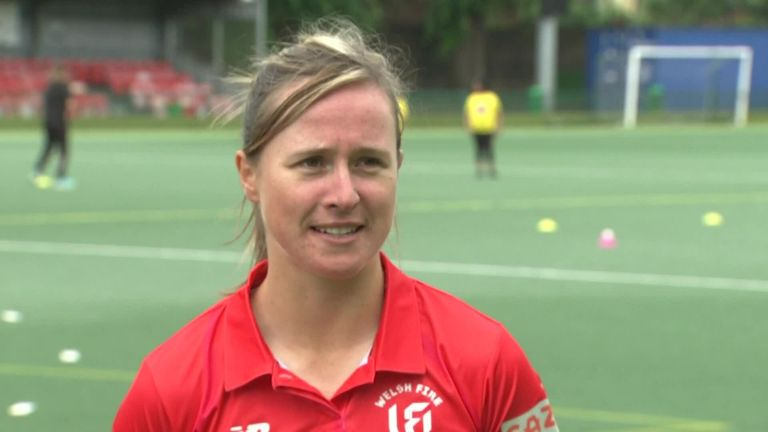 Welsh Fire's Sophie Luff hopes The Hundred tournament this summer will help generate interest in cricket among young people